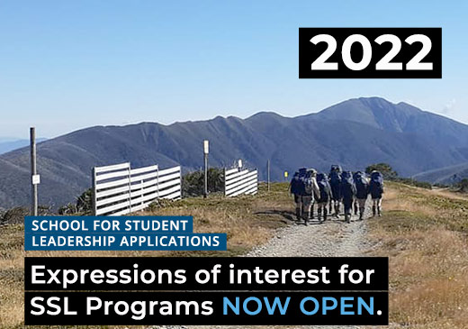 Expressions of Interest for 2022 SSL Programs OPEND in TERM 2 for Alpine School, Snowy River, Gnurad-Gundidj and Haining Farm Campuses