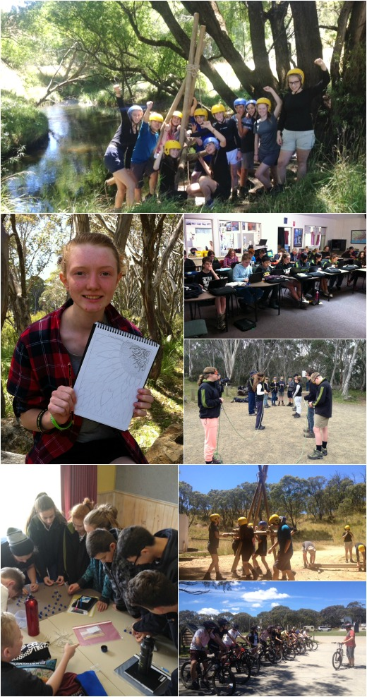 Term 1 2015: First week at the Alpine School