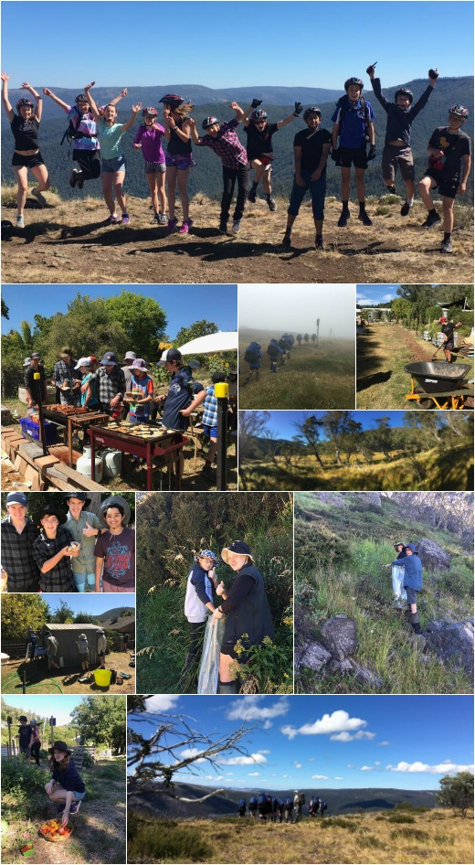 Term 1 - Expo, off-road bike ride, photography class and first aid
