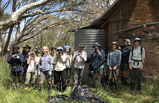 Alpine Photography Lesson at JB HUT - 1B with David Tatnall