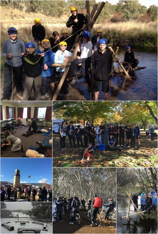 Term 2 - Bridge Building, bike riding, CPR lesson and visit to Bright