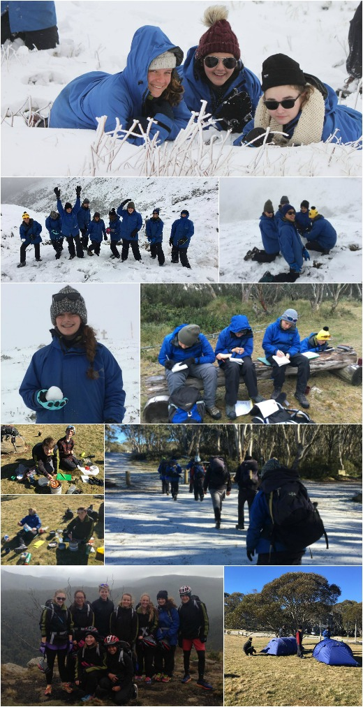On-Campus Term 2B Program - Expo Skills, DEARR. Drop Everything and Reflect and Read, Rest Day at Mt Hotham in the snow!