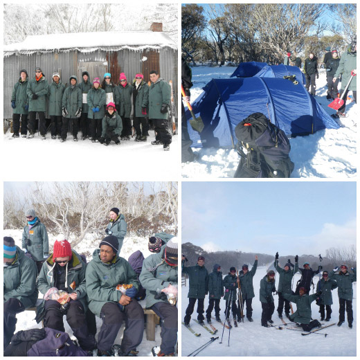 Adventures in the Snow - Cross Country Skiing and Setting up a Snow Camp