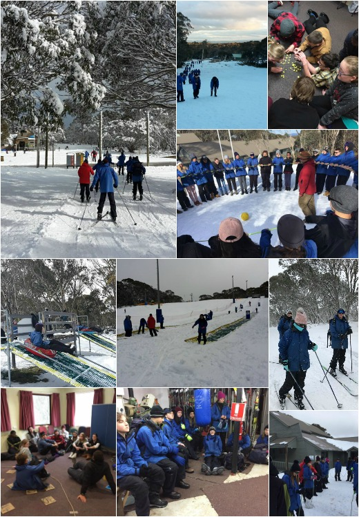Term 3 - Team Activities, Community Walk and Rest Day in the Snow