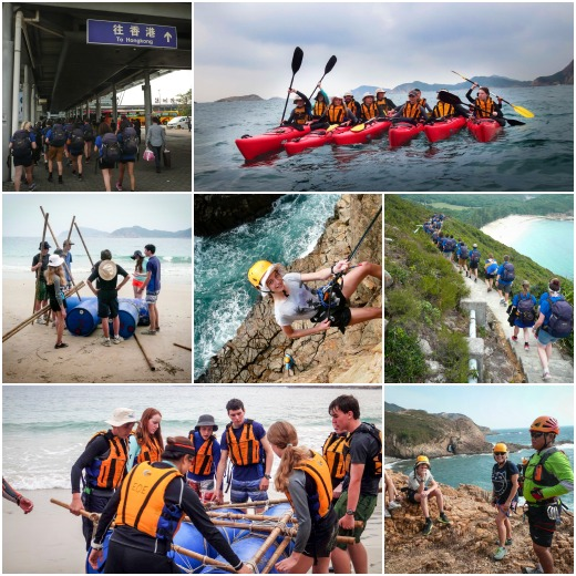 Our visit to Hong Kong - Abseiling,Rafting, Sea Kayaking and Hiking at Pak Lap Wan
