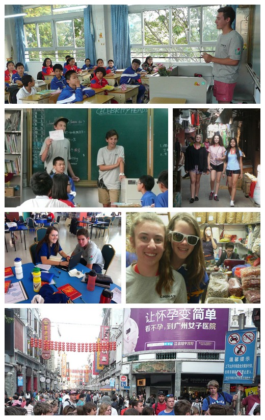 Teaching, painting, exploring - The Adventures of Our Victorian Young Leaders to China continue